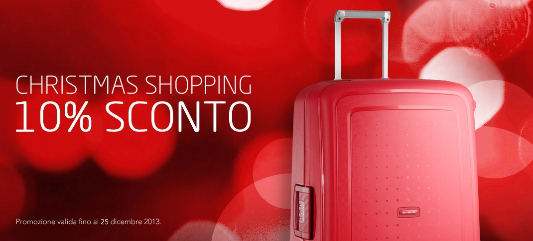 Trolley Samsonite con sconti del 10%