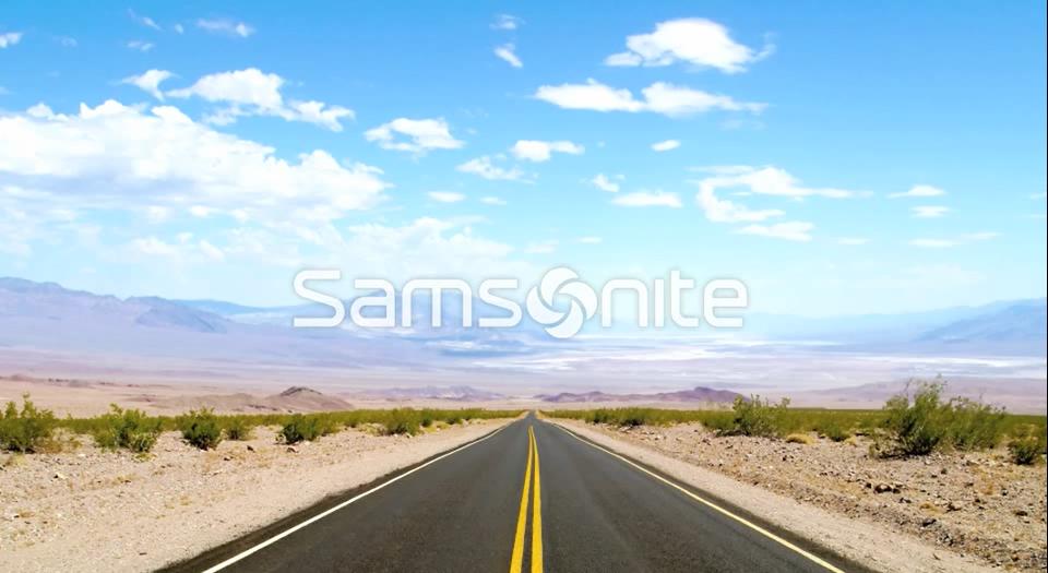 Gira il mondo con Samsonite