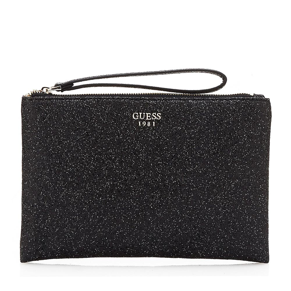 Guess evening bags. Keyword: sparkle!