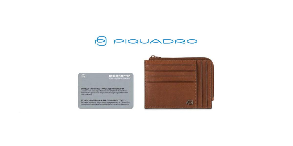 più foto 34829 433e2 RFID Protection: nuove frontiere per i portafogli Piquadro