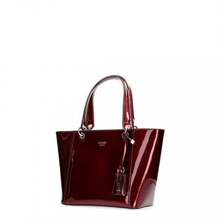 Guess shopping bag bordeaux