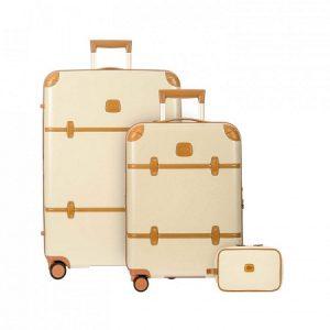 Set valigie e necessaire Bric's Bellagio Cream